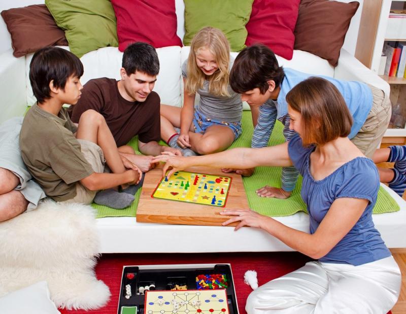 Семейный отдых дома